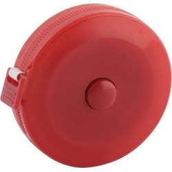 150cm 60 Inch Red Plastic Shell Press Button Retractable Tape Measurement Tool