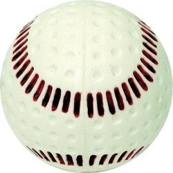 Baden Seamed Machine Baseball-9 Inch Wht