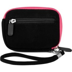 Microfiber Camera Case with Removable Wristlet (Black)
