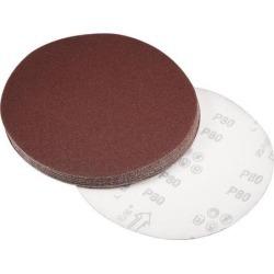 8-inch Hook and Loop Sanding Discs, 80-Grits Aluminum Oxide Flocking Sandpaper for Random Orbital Sander 15pcs