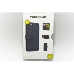 New OEM PureGear Express Folio Naturally Navy Case For iPhone 6 Plus/6s Plus