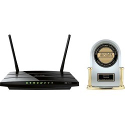 Open Box - TP-LINK Archer C5 AC1200 Dual Band Wireless AC Gigabit Router, 2.4 GHz 300 Mbps+5 GHz 867 Mbps, 2 USB Ports, IPv6, Guest Network found on Bargain Bro India from Newegg for $56.99