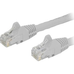 StarTech N6PATCH20WH StarTech.com Cat6 Patch Cable - 20 ft. - White Ethernet Cable - Snagless RJ45 Cable - Ethernet Cord - Cat 6 Cable