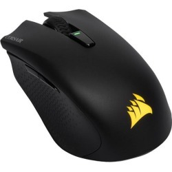 Corsair HARPOON RGB Wireless Rechargeable Gaming Mouse with SLIPSTREAM Technology, Black, Backlit RGB LED, 10000 dpi, Optical