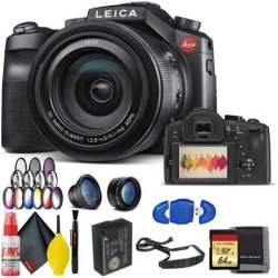 Leica V-LUX (Typ 114) Digital Camera With Memory Card Kit AND Filter Kit