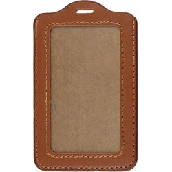 Unique Bargains Credit Business ID Badge Card Brown Faux Leather Holder Ncuea found on Bargain Bro Philippines from Newegg Business for $4.22
