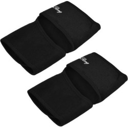 Sports Neoprene Elastic Adjustable Ankle Brace Support Protector Black 2 Pcs