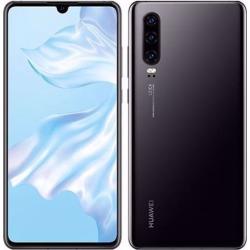 Huawei P30 Single-SIM 128GB ELE-L09 Factory Unlocked 4G/LTE Smartphone - Midnight Black
