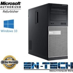 Recertified - Dell Optiplex 990 MT PC - Intel Core i5 2400 2nd Gen 3.1 GHz 8GB 1TB HDD DVD-ROM Windows 10 Pro 64-Bit found on Bargain Bro Philippines from Newegg for $247.99