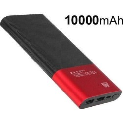 Red/Black Power Bank (10000 mAh)