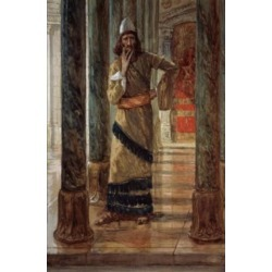 Posterazzi SAL999319 Mordecai James Tissot 1836-1902 French Jewish Museum New York Poster Print - 18 x 24 in.