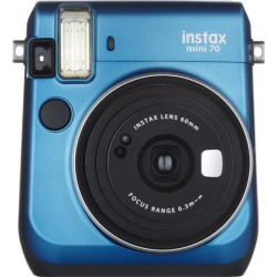 Fujifilm Instax Mini 70 Instant Film Camera - Island Blue