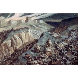 Posterazzi SAL999203 The Ambuscade James Tissot 1836-1902 French Jewish Museum New York Poster Print - 18 x 24 in.