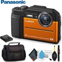 Panasonic Lumix Digital Camera Orange Standard Bundle