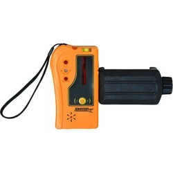 Johnson Level 40-6705 One-Sided Laser Detector w/Clamp for Red Beam Rotating Lasers