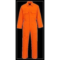 Portwest Bizweld Flame Resistant Coverall - Regular, Orange, Size XXXL found on Bargain Bro Philippines from Newegg Canada for $71.92