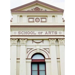 Posterazzi PDDAU01WBI0230 Australia Queensland School of Arts Education Poster Print by Walter Bibikow - 17 x 26 in.