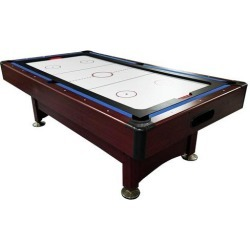 8' Recreational 2-in-1 Pool Billiards and Hockey Game Table