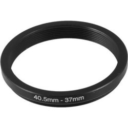 Unique Bargains Camera Parts 40.5mm-37mm Lens Filter Step Down Ring Adapter Black