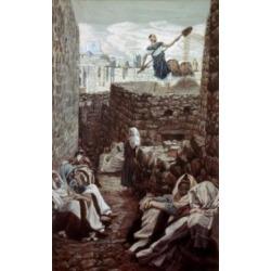 Posterazzi SAL9999946 The Winnower James Tissot 1836-1902 French Poster Print - 18 x 24 in.