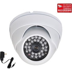 VideoSecu Built-in 1/3' SONY Effio CCD Security Camera Wide Angle Lens Outdoor Indoor Weatherproof Vandal Proof IR Day Night Vision 600TVL with Free