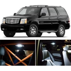 Cadillac Escalade Interior Package LED Lights Kit SMD White 2002-2006 found on Bargain Bro Philippines from Newegg Business for $10.95