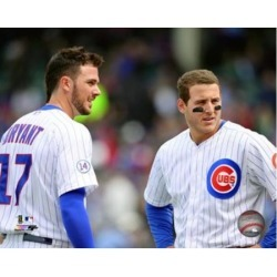 Posterazzi PFSAASA12701 Kris Bryant & Anthony Rizzo 2015 Action Sports Photo - 10 x 8 in.