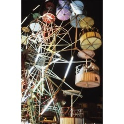 Posterazzi DPI1880769 Ferris Wheel At Fairground Poster Print, 11 x 17 found on Bargain Bro Philippines from Newegg Canada for $33.18