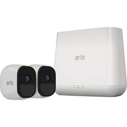 Arlo Pro Smart Security System 2 Wire-Free HD Camera with Siren, Audio Indoor / Outdoor Night Vision - VMS4230-100PAS