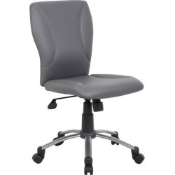 Boss Office Supplies B220-GY Tiffany CaressoftPlus Chair-Grey