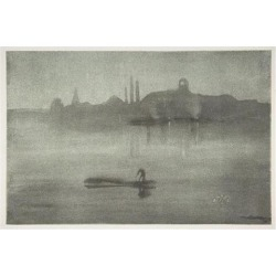 Posterazzi MET337702 Nocturne Nocturne-the Thames at Battersea Poster Print by James Mcneill Whistler American Lowell Massachusetts 1834-1903.