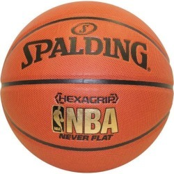 Spalding Nba Hexagrip Soft Grip Neverflat Basketball