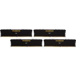 CORSAIR Vengeance LPX 16GB (4 x 4GB) 288-Pin DDR4 SDRAM DDR4 2400 (PC4 19200) C14 Memory Kit - Black Model CMK16GX4M4A2400C14