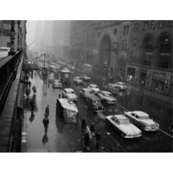 Posterazzi SAL255424409 USA New York City 42nd Street Traffic Poster Print - 18 x 24 in. found on Bargain Bro India from Newegg Canada for $52.03