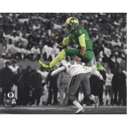 Marcus Mariota University of Oregon 2014 Spotlight Action Sports Photo (10 x 8)