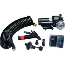Johnson Pump Aqua Jet 5.2 GPH Washdown Pump Kit w/Hose 12V - 64534