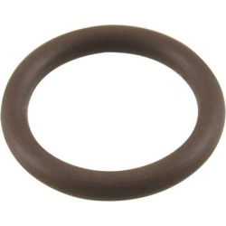 Unique Bargains Coffee Color Fluorine Rubber O Ring Grommets 16mm x 12mm x 2mm
