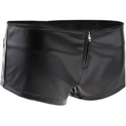 PU Leather Booty Shorts for Women S