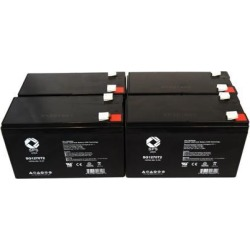 SPS Brand 12V 7 Ah Replacement Battery for APC BACK- RS BR1500LCD UPS (4 PACK) found on Bargain Bro India from Newegg Business for $45.00