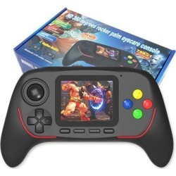 Portable Handheld Video Game Consoles 16-bit Joystick Handle