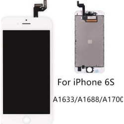 Screen Replacement for iPhone 6s (4.7 Inch) White - with LCD Touch Screen Glass Frame Assembly Display Digitizer for A1633, A1688, A1700 Model