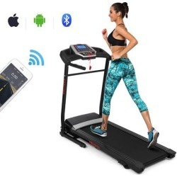 ANCHEER APP Control Smart Digital Folding Treadmill Support Motorized Power Running Fitness Jogging Treadmill