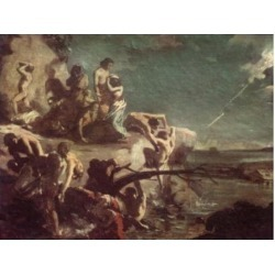 Posterazzi SAL9005588 The Deluge by Theodore Gericault 1791-1824 Poster Print - 18 x 24 in.