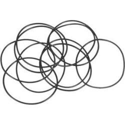 O-Rings Nitrile Rubber 33mm x 35mm x 1mm Seal Rings Sealing Gasket 10pcs