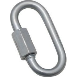 1/8' Zinc Plated Quick Link National Hardware Snaps N223-008 038613171589