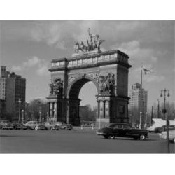 Posterazzi SAL255424863 USA New York City Brooklyn Grand Army Plaza Poster Print - 18 x 24 in.