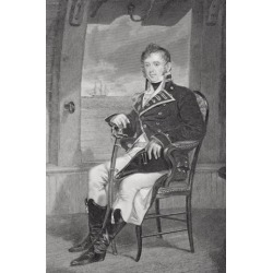 James Lawrence 1781-1813. American Naval Officer In War Of 1812.From Painting By Alonzo Chappel Poster Print (11 x 17)