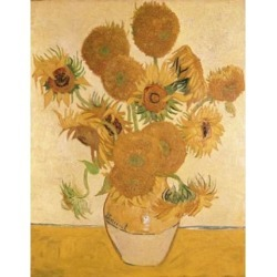Posterazzi SAL3805442562 Sunflowers 1888 Vincent Van Gogh 1853-1890 Dutch Oil on Canvas National Gallery London England Poster Print - 18 x 24 in.
