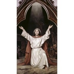 Posterazzi SAL900100432 Christ on the Mount of Olives Anker Lund 1840-1922 Danish Poster Print - 18 x 24 in.