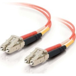 Cables To Go 33032 20 ft. LC/LC Duplex 50/125 Multimode Fiber Patch Cable